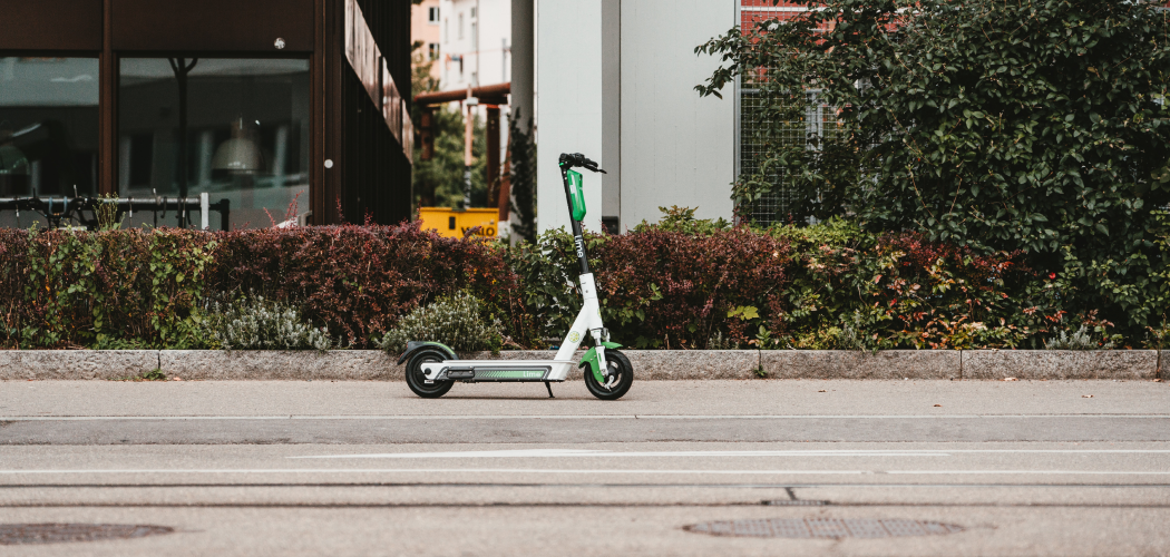 Electric Scooters Compete With Pedestrians On Sidewalks